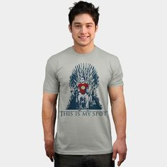Sheldon Cooper - This Is My Spot - Funny Game of Thrones T Shirt - available in many styles - for women and men