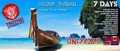 One week tour of Thailand  Book using code LindaB for free stuff :)