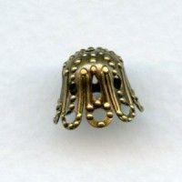 Oxidized Brass (2) - VintageJewelrySupplies.com