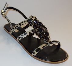 Leo Sandal with Stone