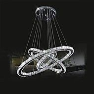 Buy Modern lighting 3 ring Chandelier Hot Sale Led Crystal Chandelier Light Pendant Lamp lustre Crystals ring Diamond Ring LED Lamp Stainless Steel Hanging Light Fixtures at Wish - Shopping Made Fun Cheap Chandelier, Ring Chandelier, Modern Chandelier, Modern Lighting, Circular Chandelier, Crystal Ceiling Light, Crystal Chandelier Lighting, Chandelier Ceiling Lights, Light Led