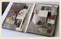 Tons of beautiful handmade books and other projects on this blog. I really admire this artist!