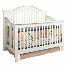 DaVinci Jayden 4 In 1 Convertible Crib Antique White M5981Y FREE SHIPPING