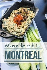 Where to Eat in Montreal Canada
