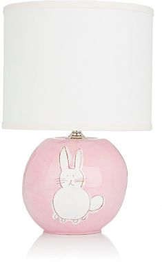 Alex Marshall Studios Bunny Sphere Lamp #lamp #kidsroom #afflink