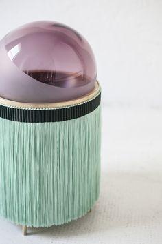 Lampada da tavolo in vetro di Murano NORMANNA by Purho