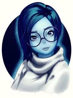 """Sadness by corrico.deviantart.com on @DeviantArt - From """"Inside Out"""""""