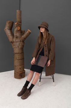 Ally Capellino, British designer of classic mens and womens bags and accessories. Fashion Bags, Fashion Accessories, Blind Stitch, Tie Shoes, Diamond Pattern, Wool Coat, Manx, Cheryl, Horn