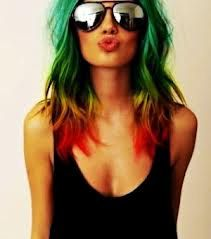Bob Marley Mix- SALON GRADE Non -Toxic  Hair Chalk - Temporary Hair Color. $9,50, via Etsy.