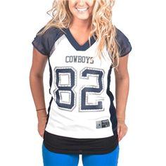 WOMEN Dallas Cowboys Zach Wood Jerseys
