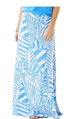 The Nola A-Line Maxi Skirt is a stretchy, spandex skirt. Wear this a-line skirt with a white tank and wedges for a nautical and fun summer look. Maxi Skirts For Women, A Line Skirts, Summer Outfits, Cute Outfits, Weekend Wear, Spring Summer Fashion, Summer 2015, Passion For Fashion, Lilly Pulitzer