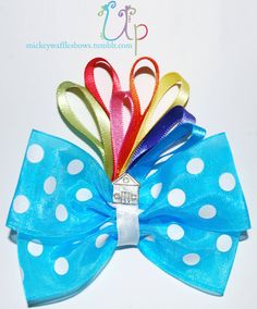 Up Hair Bow. Want!!