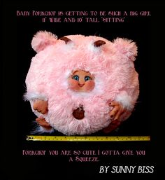 """""""Porkchop"""" A one of a kind monster by Sunny Biss http://www.sunnybiss.com"""
