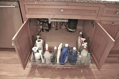 Organization Solution: Under Sink Racks