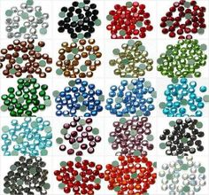 #Hotfix #Rhinestones have no colors yet transparent but provide rainbow effects to the garments while pasted on them.
