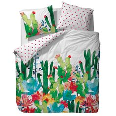Parure de lit Cactus COVERS & CO - 220x240