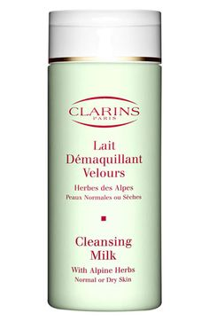 Clarins Cleansing Milk with Alpine Herbs for Normal/Dry Skin (7 oz.) available at #Nordstrom. Another fabulous Clarins product. Light and refreshing.  A little goes a long way so it lasts a long time.