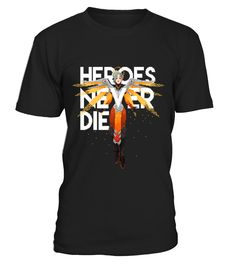 Hero Never Die  Overwatch  #christmas #shirt #gift #ideas #photo #image #gift #october #overwatch