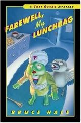 When fourth-grade private eye Chet Gecko is called to catch someone who is stealing food from the school cafeteria, he finds himself framed for the crime.   FIC HAL