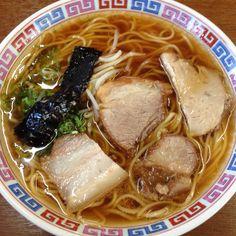 播州ラーメン》大橋の中華そば Japanese Noodles, Japanese Ramen, Japanese Snacks, Japanese Dishes, Japanese Food, Traditional Japanese, Cup Ramen, Mie Goreng, Gourmet