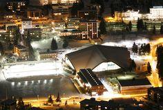 Vaillant Arena in Davos, Switzerland.