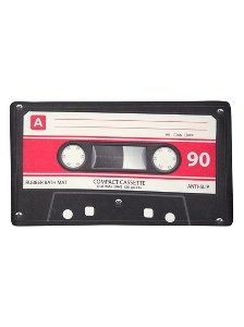 Buy George Home Rubber Cassette Tape Bath Mat from our Towels & Bath Mats range today from George at ASDA. Asda, Cool Stuff, Stuff To Buy, Cassette Tape, 13 Reasons, Bath Mats, Towels, Objects, Range