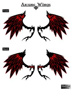 Aion Wings contest by GPG87.deviantart.com on @DeviantArt