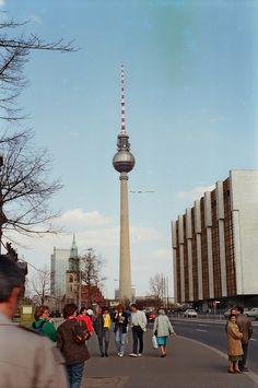 East Berlin TV Tower 1987