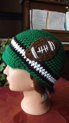 c2284a6fcea CFL Saskatchewan Roughrider hand crochet tuc by SabinesCountryShop