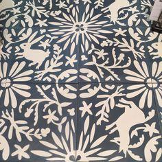 concrete floor tiles