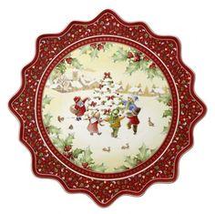 Villeroy and Boch Christmas patterns   ... Boch > Villeroy & Boch Toy's Fantasy Pastry Plate - Christmas Tree