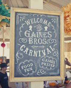 Best Kids Parties: Vintage Carnival My Party | Apartment Therapy