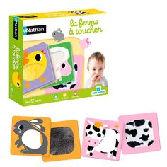La Ferme à toucher - Le jeu d'association tactile - 12,95 €