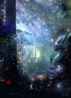 So like a faerie world!