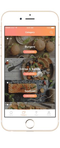 Yumm Place – User interface by Seung Jun Park
