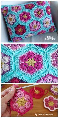 128 Best African Flower Crochet Images African Flowers Crochet