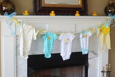 duck baby shower ideas | You'll see rubber ducks throughout, along with the blue gems to ...
