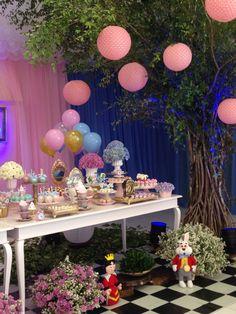 Festa Alice no Pais das Maravilhas | Alice um Wonderland