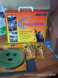 Carrie's Speech Corner: Introducing the EET (Expanding Expression Tool). I started using the kit with my students this week (mostly preschool!).  Find out how it went!