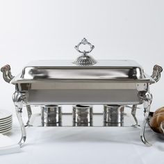 Family Brunch- Choice Classic 8 Qt. Full Size Chafer