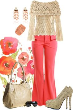 """""""Coral"""" by sil-engler on Polyvore"""