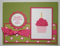 Stampin Up Cupcake Punch