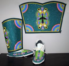native american beaded leggings | KQ Designs - Native American Beadwork, Powwow Regalia, and Beaded ...