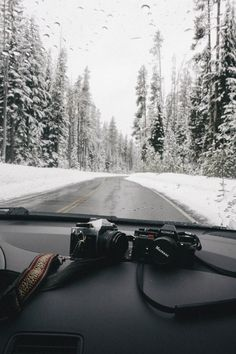 Winter Drive Let's take a trip to beautiful Winter Wonderland. The camera must not be missing for beautiful winter photos. Adventure Awaits, Adventure Travel, Nature Adventure, Photos Voyages, Winter Photography, Travel Photography, Adventure Photography, Photography Camera, Outdoor Photography