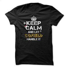 Keep calm and Let COFIELD Handle it TeeMaz - tshirt printing #cute hoodies #hoodies for boys