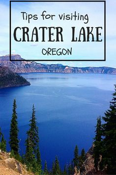 Seven Wonders of Oregon: Crater Lake National Park Make sure to visit the deepest lake in the United States- Crater Lake. A travel guide of things to do in and around Crater Lake. Oregon Vacation, Oregon Road Trip, Oregon Travel, Travel Usa, Oregon Hiking, Travel Portland, Oregon Coast Roadtrip, West Coast Usa, West Coast Road Trip