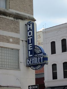 Alexandria, Louisiana...Bentley Hotel...always known it to be closed...only looked in windows...very beautiful...