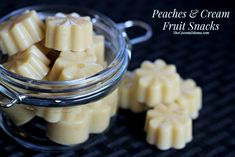Peaches and Cream Fruit Snacks