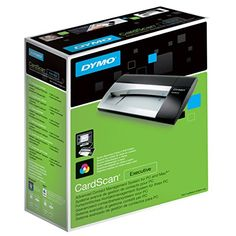 DYMO++CardScan+v9+Executive+Business+Card+Scanner+and+Contact+Management+System+for+PC+or+Mac+(1760686)