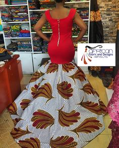 African Fashion Girls! These Are the 20 Stunning Dresses Everyone Will Want in 2018 | Swiftfoxx
